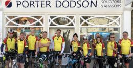 Porter Dodson Cyclists at Bridport Office