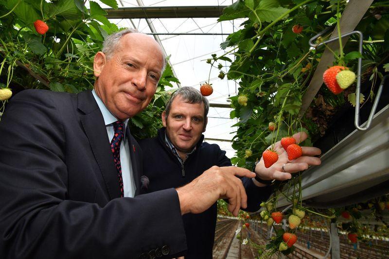 BARCLAYS Sir Ian Cheshire and John Downes Director Bradon Soft Fruit Farms