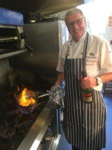 Hankridge Arms chef Mark Roberts
