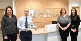 The Albert Goodman Human Resources Team