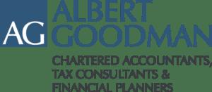 Albert Goodman Logo Colour with Strap