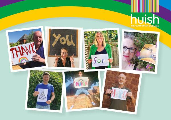 Huish Hero Postcard A5 FRONT OUTLINED