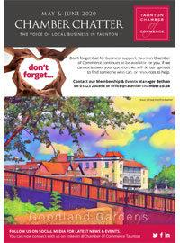 Taunton Chamber Chatter May and June 2020 Cover