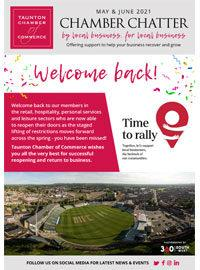 Taunton Chamber Chatter May June 2021 Cover