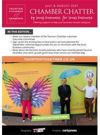 Taunton Chamber Chatter July August 2021 Cover